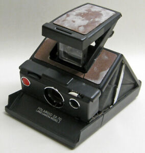 0f57da8df10d6 Details about Vintage POLAROID SX-70 Model 3 Instant Film LAND CAMERA  Untested Condition ASIS