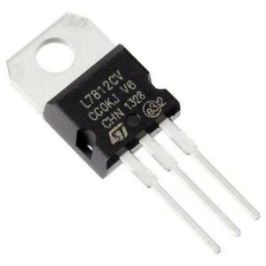 L7812CV L7812 TO-220 Voltage Régulateur 12V
