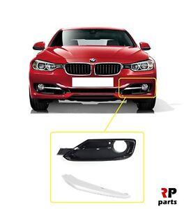 Left BMW 3/' Series F30 F31 Sport Front Bumper Fog Light Grille JS