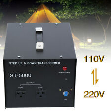 5000w 110 240v Voltage Converter Transformer Heavy Duty Step Updown