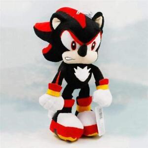 Shadow-Sonic-the-Hedgehog-Super-Mario-Plush-Toy-Stuffed-Animal-Figure-New-10-034