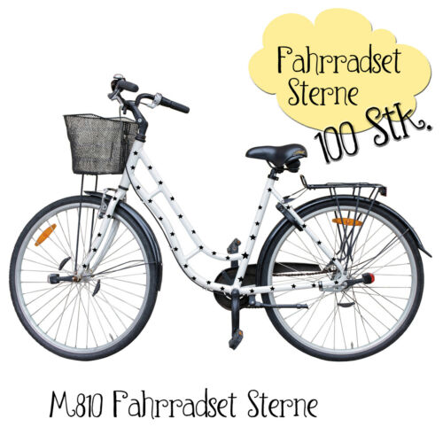 100 PCS m810 Bike Sticker Bicycle Stickers Bicycle Stickers Stars Star