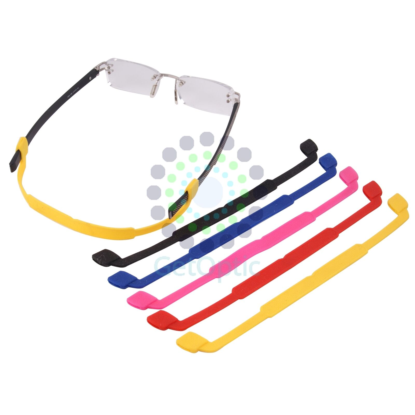2pcs Sport Sunglasses Eyeglasses Neck Cord String Retainer