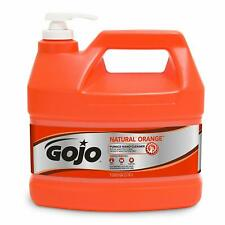 GOJO Natural Orange Pumice Industrial Hand Cleaner 1 Gallon Quick Acting Lotion