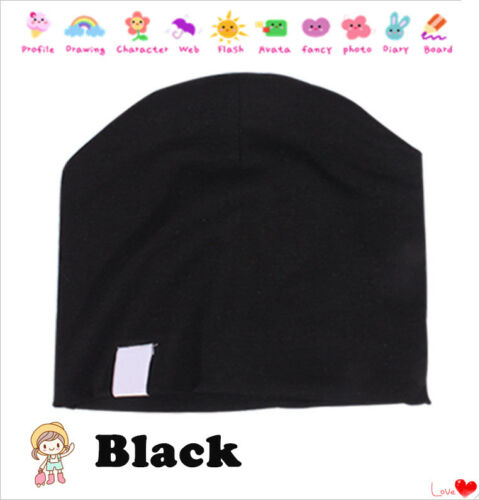 Fashion Unisex Cotton Beanie Hat  New Born Cute Baby Boy Girl Soft Toddler Cap