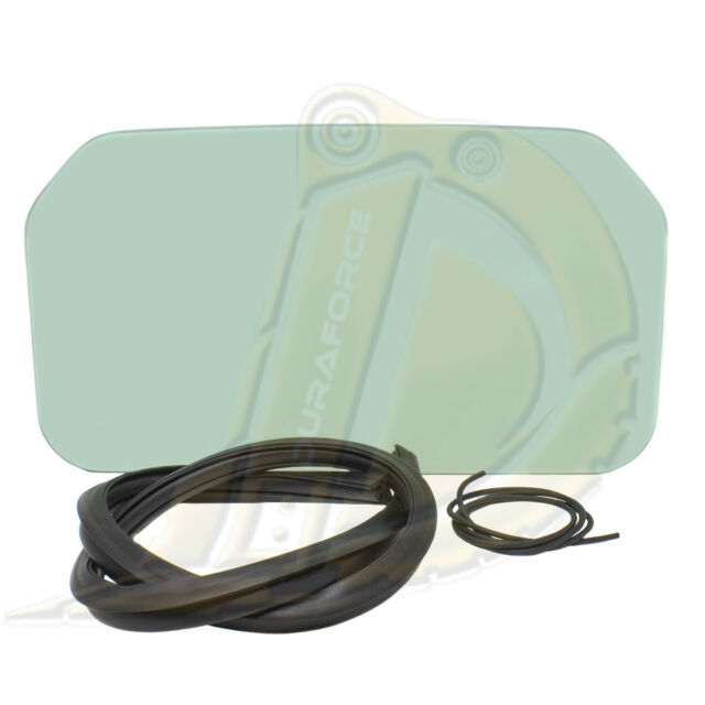 Bobcat Back Window Glass Kit T110 T140 T180 T190 T200 Skid Rear seal cord