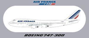 Boeing 747-300 aircraft sticker