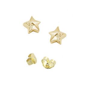 1 Paar Mädchen Frauen Zirkonia 3,5 mm M Ohrstecker Kinder Ohrringe Echt Gold 750