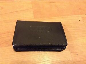 Usana Id Business Card Holder Wallet Black New Ebay