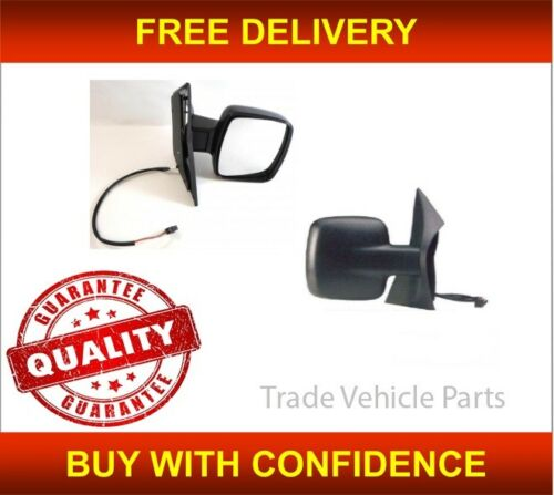 MERCEDES VITO 1996-2003 DOOR WING MIRROR HEATED ELECTRIC BLACK DRIVER SIDE NEW