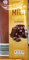 Choceur Milk Chocolate With Almonds 5.29 Oz. Lowest Price Ever
