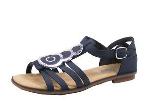 purchase cheap eee20 1ff5a Details zu Rieker 64296-14 Schuhe Damen Sandalen Sandaletten