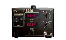 SMD Hot Air Rework Station GQ 5200 Welding Soldering Iron Full Pack Fahrenheit d
