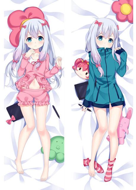 Anime Dakimakura Eromanga Sensei Izumi Sagiri Hug Body Pillow Case cover HE290