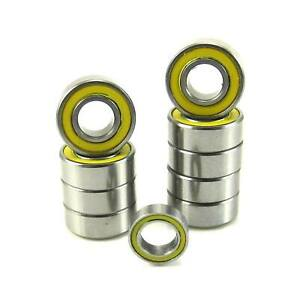 TRB-RC-Precision-Ball-Bearing-Kit-10-YE-Rubber-Sealed-Tamiya-Grasshopper
