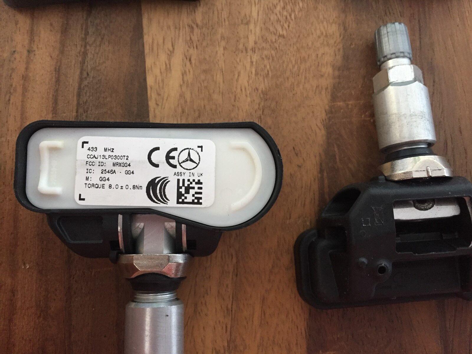 4 Ricambio OE Valvola Pressione Gomme per Mini Roadster 2014-eop TPMS Sensori