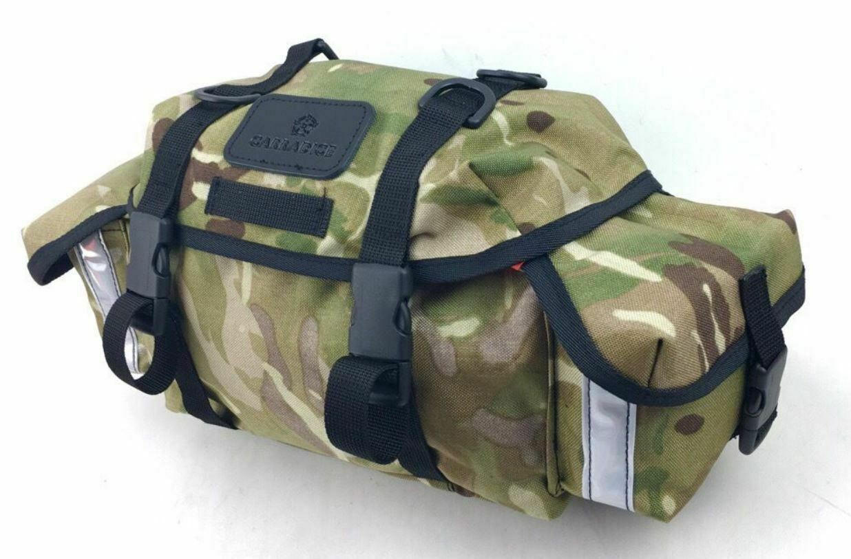 Carradice Ltd Edition LIGHTWEIGHT Audax CAMOUFLAGE Bicycle Saddlebag -tour audax