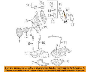 mercedes oem 06 11 e350 3 5l v6 engine oil filter housing gasket rh ebay com Nissan 3.5L Engine Diagram Nissan 3.5L Engine Diagram