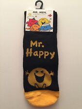 MR HAPPY MR MEN  MEN'S SOCKS SIZE  6-11 - SALE - NOVELTY