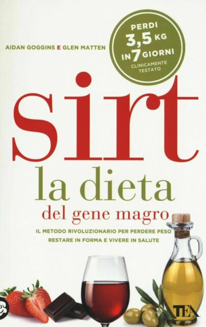 Sirt La dieta del gene magro - Aidan Goggins - eBook ePub PDF