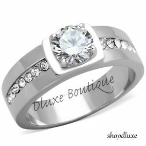 MEN-039-S-1-75-CT-ROUND-CUT-SIMULATED-DIAMOND-SILVER-STAINLESS-STEEL-RING-SIZE-8-13