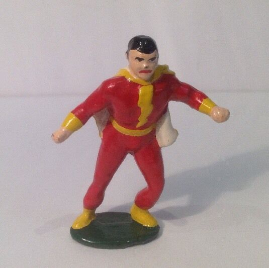 COPY OF Timpo Super Heroes, Captain Marvel (my Ref Gr 925) Unknown Maker