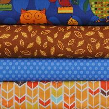 Animal Party Too Summer 4 Fabric Fat Qtrs Bundle, Amy Schimler, Robert Kaufman