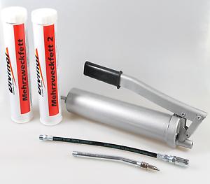 Handfettpresse-Handhebel-Fettpresse-Presse-2-Fett-Kartuschen-Mehrzweckfett-5tlg
