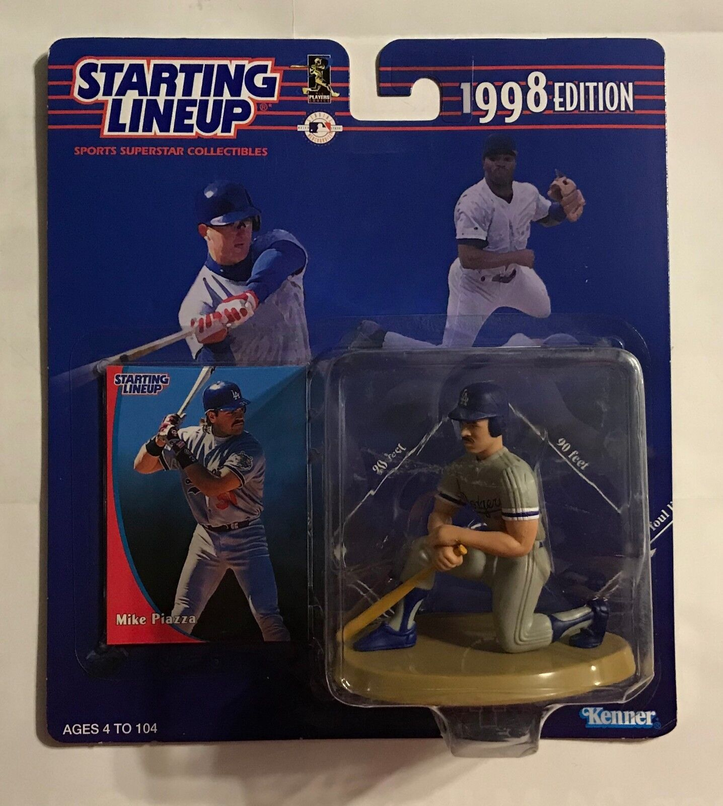 1998 STARTING LINEUP - MIKE PIAZZA - DODGERS - ACTION FIGURE