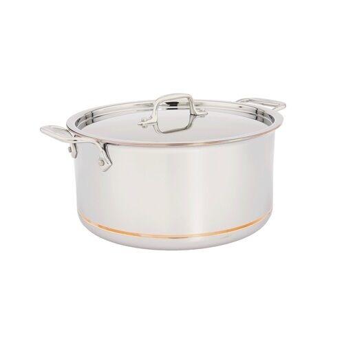 All Clad Copper Core 8 Quart Stock Pot With Lid