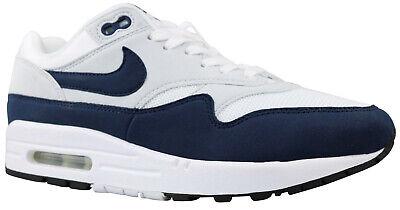 Nike Wmns Air Max 1 Damen Sneaker Schuhe weiß navy 319986 104 Gr. 36 40 NEU | eBay