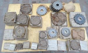 HSS discos de corte de 6 8 10 12 14 16 18 20 25 nutfräser ranura fresadora ranuras fresadora