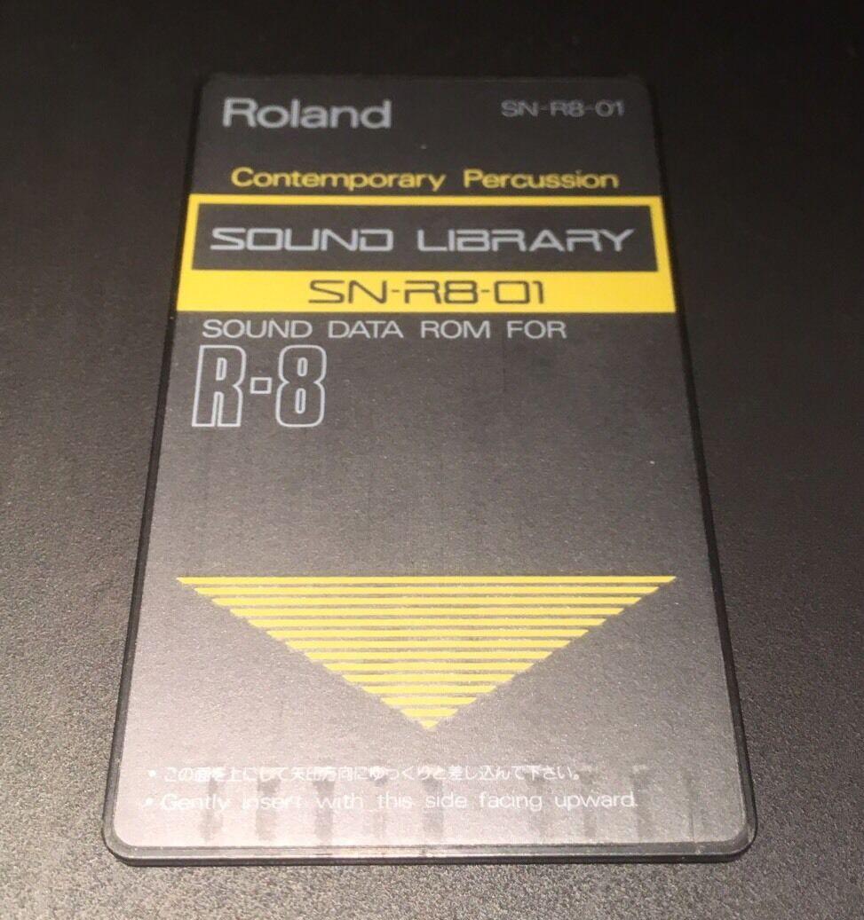 ROLAND R8 Cartridge Card Contemporary Percussion
