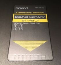 ROLAND R8 Cartridge Card Contemporary Percussion