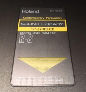 Belle Roland R8 Cartridge Card Contemporary Percussion-afficher Le Titre D'origine