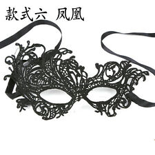Women Sexy Black Lace Eye Face Mask Masquerade Party Ball Prom Halloween Costume