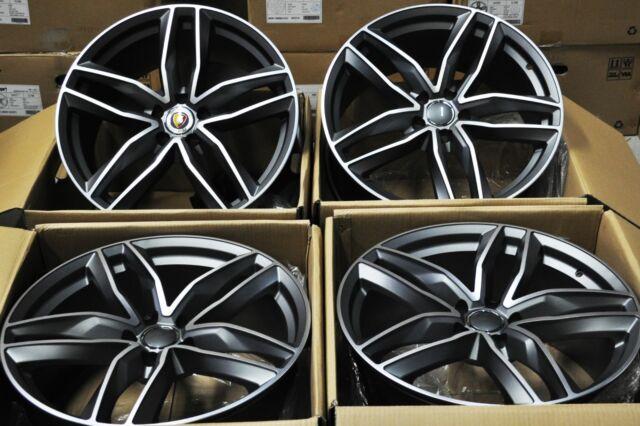 "18"" NEW AUDI RS6 AVANT STYLE WHEELS RIMS FIT A3 A4 A6 S3 S4 S6 RS4 Q3 TT 1196="