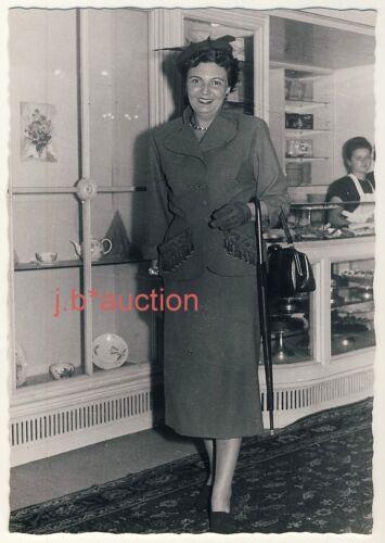 STUTTGART Café Königsbau / Modeschau Modenschau Mode * Foto-AK um 1950 #8