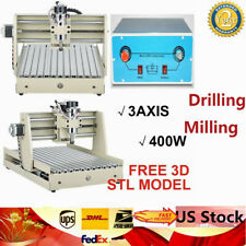 Cnc 3040t 3axis 400w Desktop Diy Router Carving Pcb Engraving Milling Machine Us