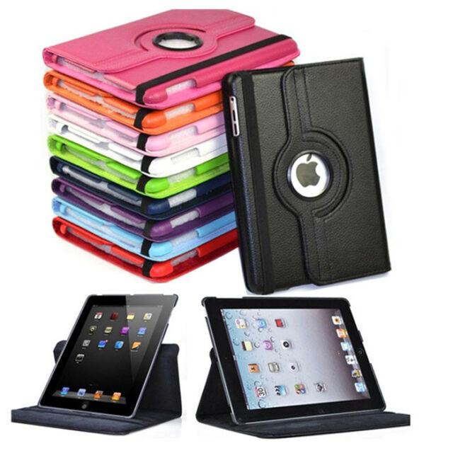 Nuevo 360 Grados Soporte Giratorio Funda para Apple IPAD Mini 2 3 IPAD Mini 4