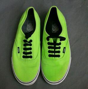 VANS Women 8 5 Mens 7 Neon Highlighter Green or Yellow #1: s l300
