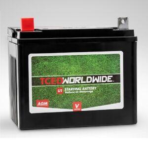 Sealed AGM Battery for John Deere LX176 Lawn Mower Garden Tractor 2yr Warranty