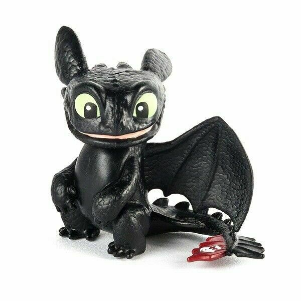 Dreamworks Dragons Mini Toothless Figure Spin Master