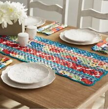 """Pioneer Woman Fiona Floral Set of 4 Pocket Placemats 14"""" X"""