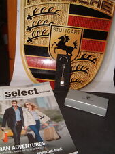 """PORSCHE DESIGN SELECTION'S """"MADE IN GERMANY"""" 911 OMEGA STYLE KEY RING NIB"""