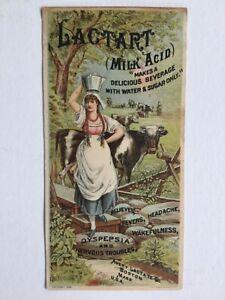 Antique-1884-Avery-Lactart-Trade-Card-Cobb-Bates-Yerxa-s-Boston-MA-Cow-Maid