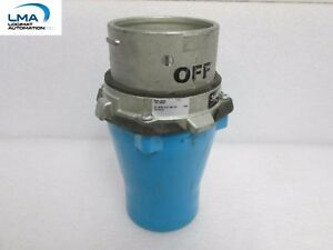MELTRIC DS60 PLUG 60A 600V 25HP 33-64143-4X RECEPTACLE CONNECTOR INLET*NO COVER