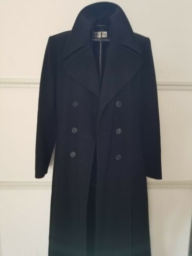 Uld Breasted Coat Long Blend Double X Black 4 Nipon Euc Albert Dress Cashmere qCIwPx6R1Y