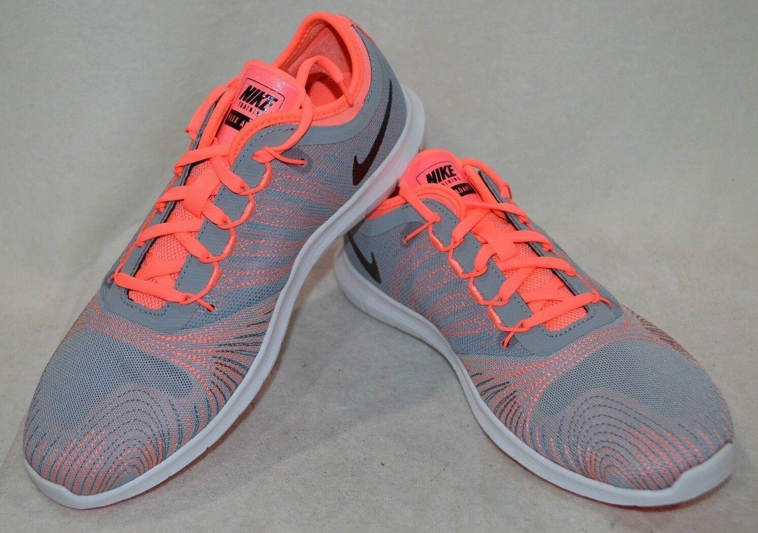 Nike Flex Adapt TR Grey/Black/Lava Glow Women's Training NWB Shoes - Asst Sizes NWB Training f41898
