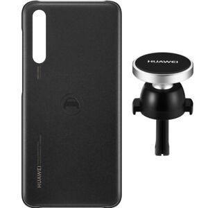 Original-Huawei-Car-Kit-Case-KfZ-Halter-Cover-fuer-das-Huawei-P20-Pro-Schwarz